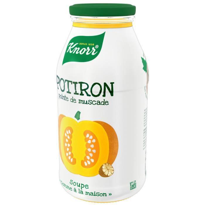 Soupe potiron pointe de muscade 45cl Knorr
