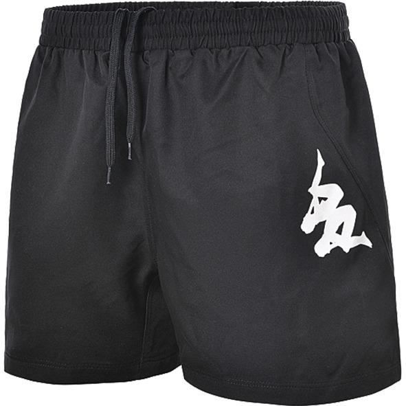 KAPPA Short rugby Sarno - Homme - Noir