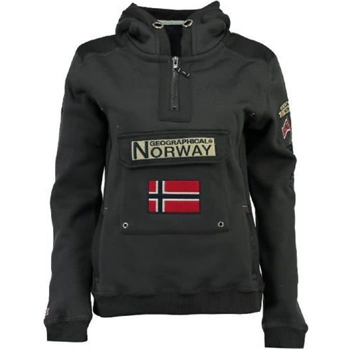 Sweat Homme Geographical Norway Gymclass New Gris