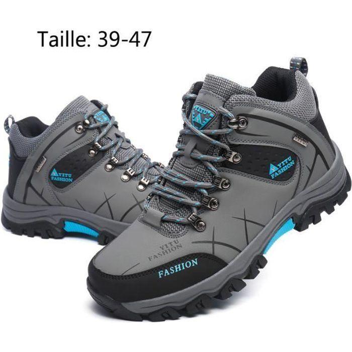 Chaussures de Randonnée Hautes homme Grande taille 39-47