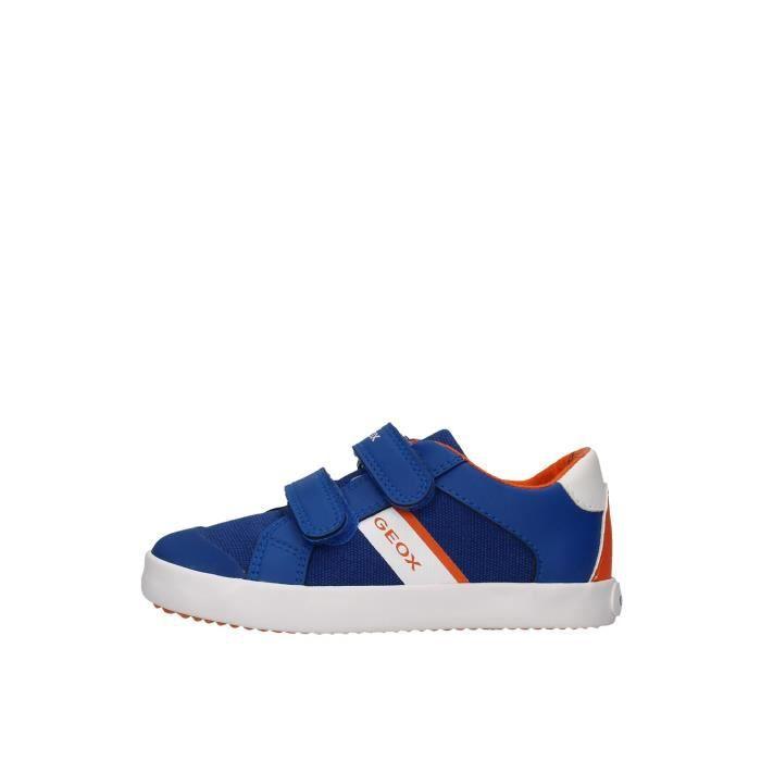 Geox Junior B021NB01054 chaussures de tennis Enfant BLEU
