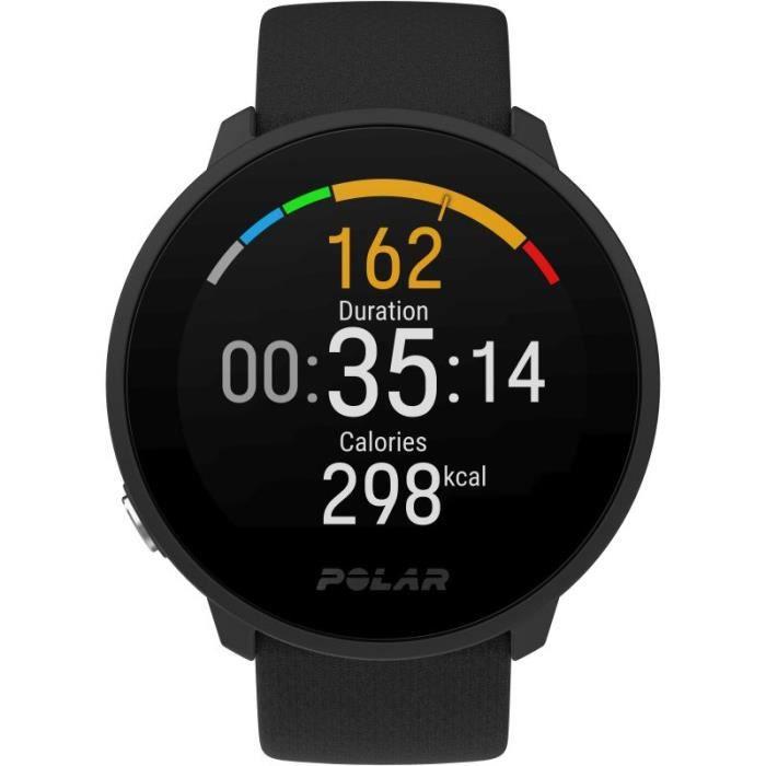 Polar Unite Fitness Watch - Noir