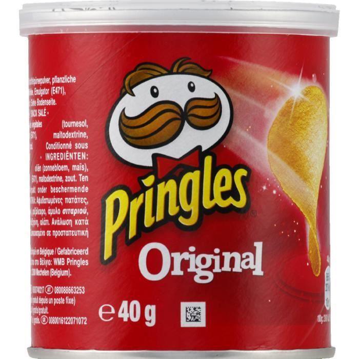 Tuiles salées mini 40 g Pringles
