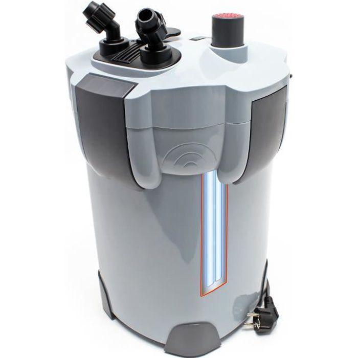 SunSun HW-404B Aquarium bio filtre extérieur 2000l/h avec 9W CUV 4-Phases Matériaux et Pompe - 50192