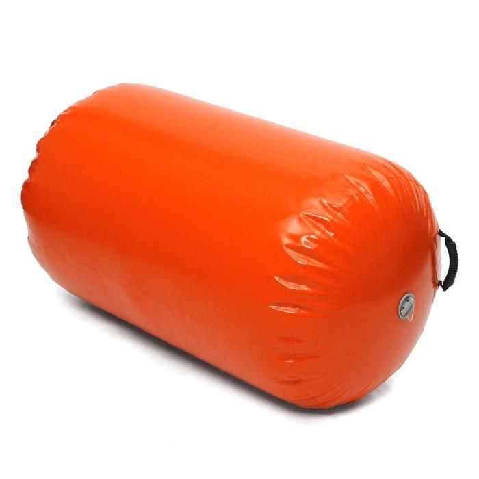 TEMPSA Voie Aérienne Colonne Gonflable Pour Gymnastique Formation 65*100cm mandarine 65*100cm