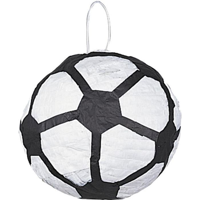 pinata ballon de football achat vente pi ata carton. Black Bedroom Furniture Sets. Home Design Ideas