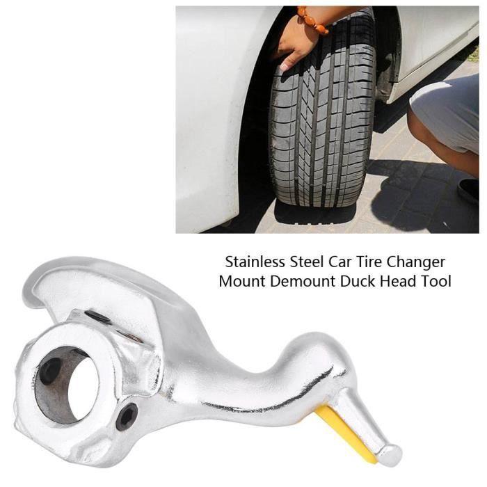 Pneu Changeur de remplacer une partie Mount Démonter en métal noir Duck Head Réparation Automobile 30 mm