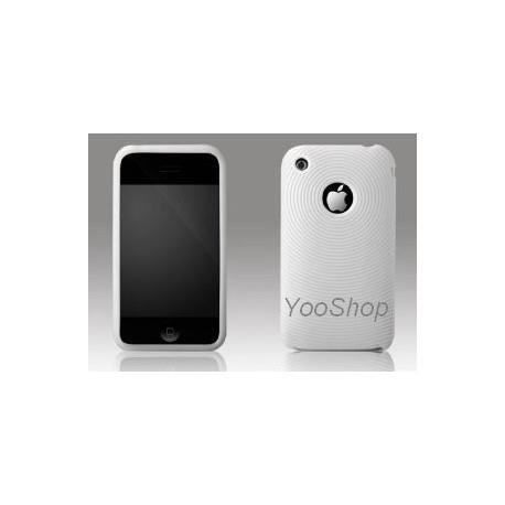 Housse blanche iphone 3g 3gs achat housse tui pas for Housse iphone 3gs