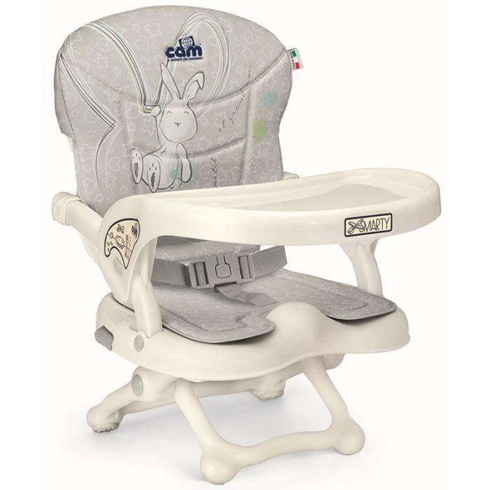 RÉHAUSSEUR SIÈGE  Cam Rehausseur de chaise SMARTY POP C226 LAPIN Col