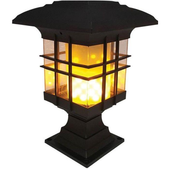 Piquet Lampe 3er Set avec télécommande Jardin Lampes Luminaire extérieur Lampe de Poche