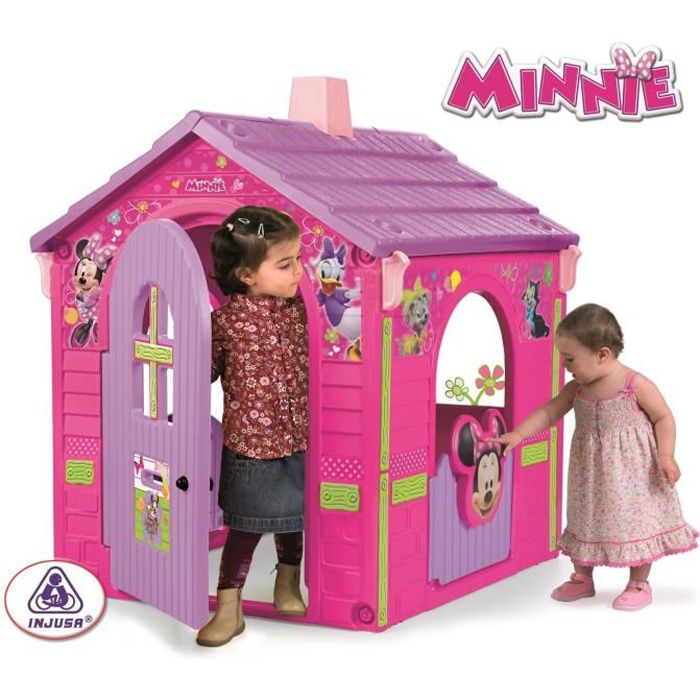 minnie maison cabane pour enfant achat vente. Black Bedroom Furniture Sets. Home Design Ideas