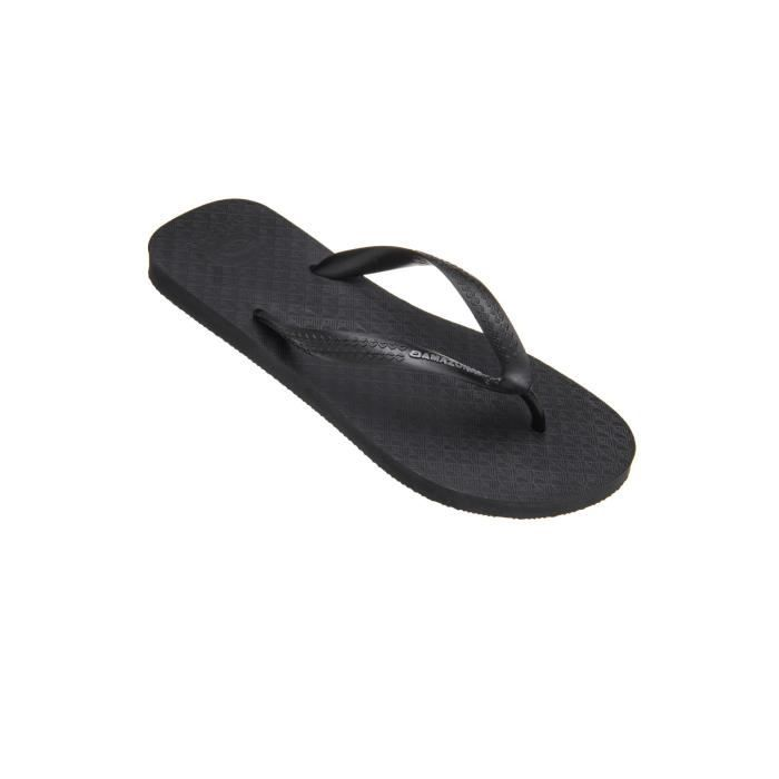 Tongs homme Amazonas Fun Noir