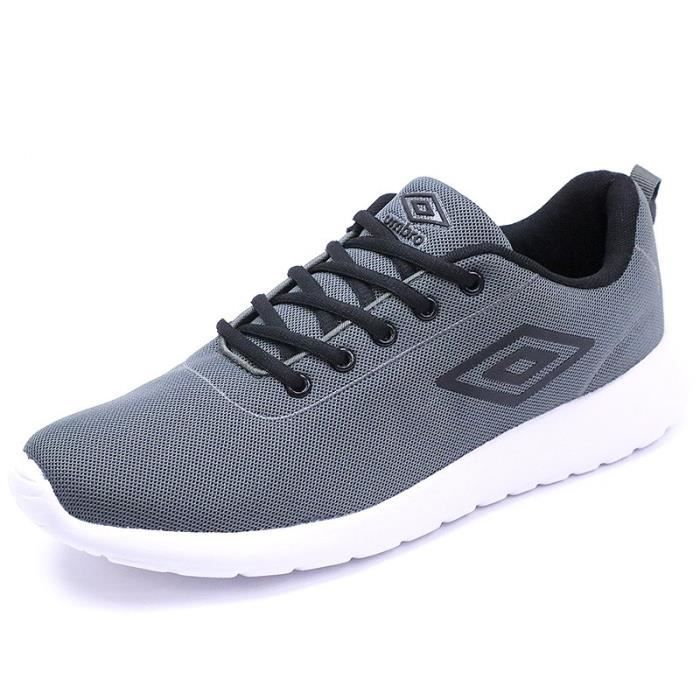 e969ba588472f0 Chaussures Denford Running Gris Homme Umbro - Prix pas cher - Cdiscount
