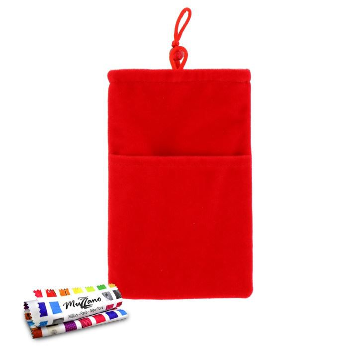 "HOUSSE - CHAUSSETTE Pochette ""Cocoon"" SONY XPERIA SP Rouge"