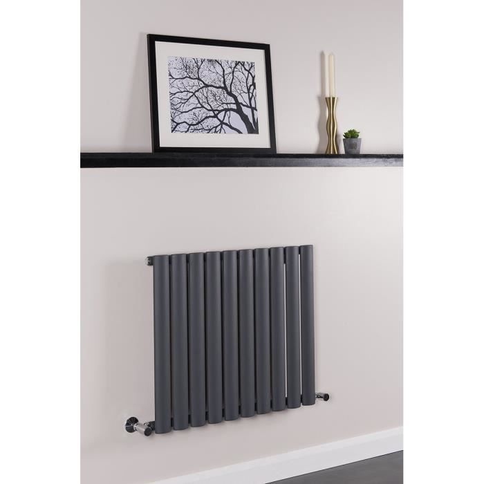 radiateur eau chaude norden 520w 600 x 700 sable gris. Black Bedroom Furniture Sets. Home Design Ideas