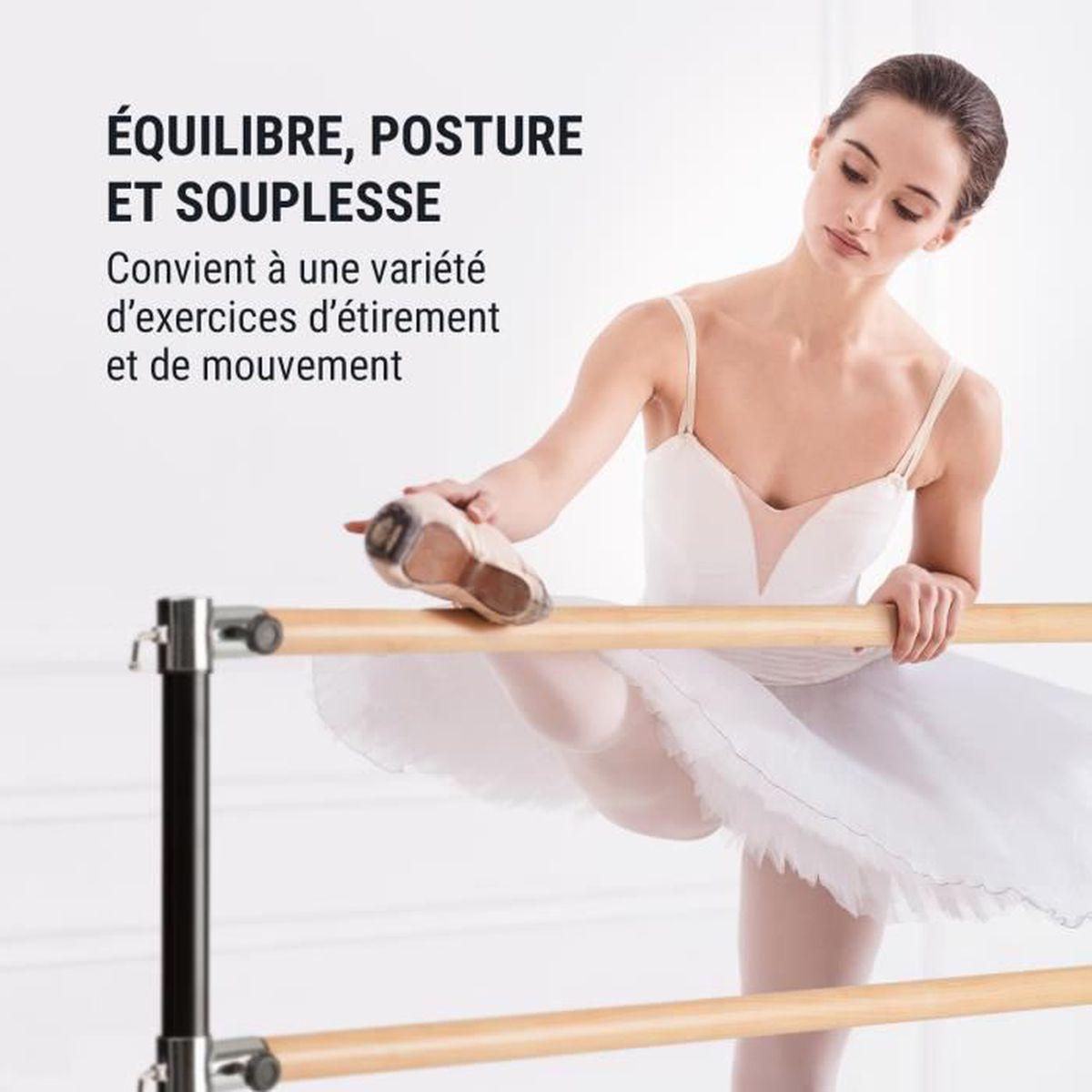 Ø 2 Barre de danse classique pose libre Entrainement ballet 110 x 113 cm