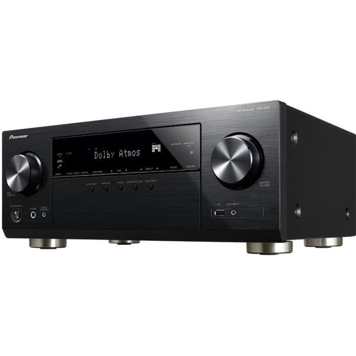 PIONEER VSX-933 Amplificateur AV 7.2 connecté - Bluetooth