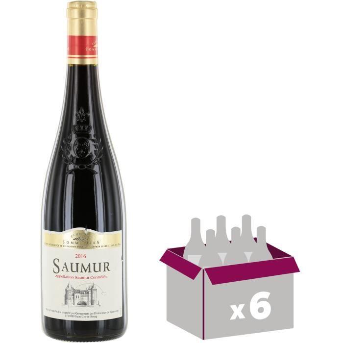 Club du Sommelier 2018 Saumur - Vin rouge de Loire x6