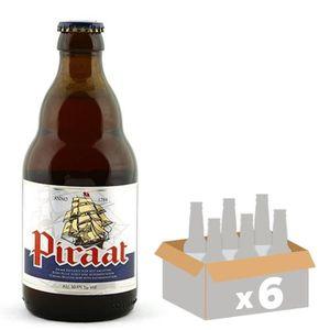BIÈRE BRASSERIE VAN STEENBERGE Piraat Pale Ale Bière Amb