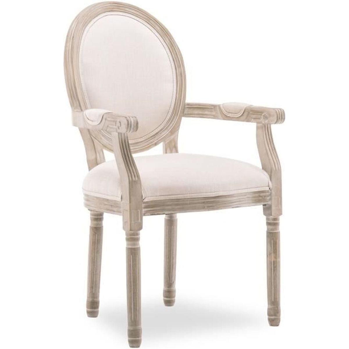 Chaise Salle A Manger Louis Xv chaise medaillon avec accoudoir