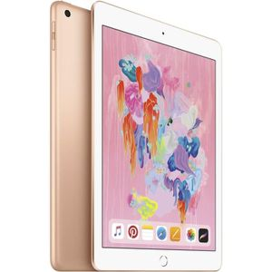 "TABLETTE TACTILE iPad 9,7"" Retina 128Go WiFi + Cellular - Or - 6ème"