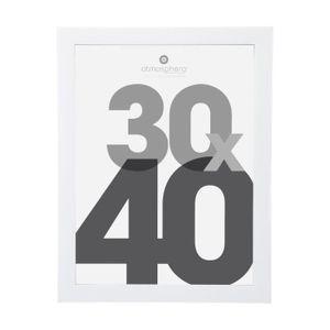 ZEP S.r.l Regent 4 Cadres Photo en Bois Blanc 30 x 40 cm//40 x 50 cm