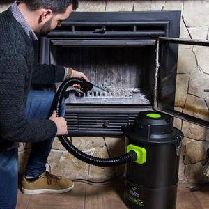 ASPIRATEUR TRAINEAU Aspirateur à cendres puissant cheminée barbecue tr