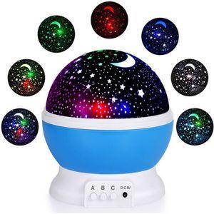 VEILLEUSE BÉBÉ Veilleuse Enfants LED Projecteur Etoiles - Lampe d