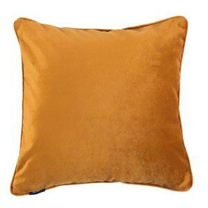 McAlister textiles Matt velours orange rouille rouge luxueux doux PLAIN Coussin