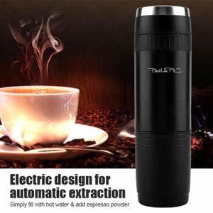 COMBINÉ EXPRESSO CAFETIÈRE Machine à café expresso électrique portable