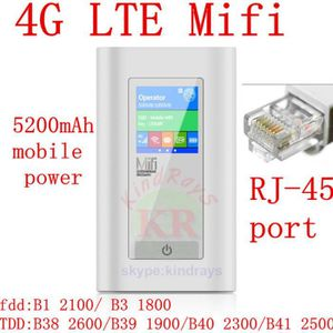MODEM - ROUTEUR Débloqué 4g 5200 Mah Power Bank Routeur 150 Mbps P