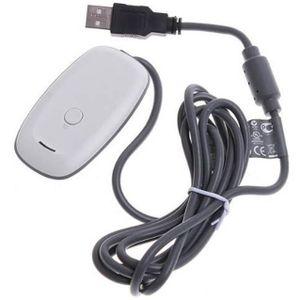 ADAPTATEUR MANETTE Adaptateur Recepteur USB sans fil de manette de je