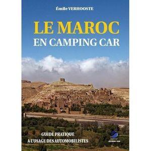 GUIDES MONDE Livre - le Maroc en camping car