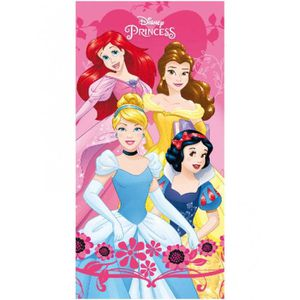 Filles officiel Disney Princesses Ariel Belle Bain Plage Natation Serviette 70 x 140 cm