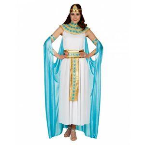 DÉGUISEMENT - PANOPLIE Cléopâtre dames costume avec Cap Size: M (40-42)