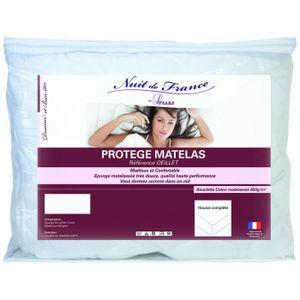 MATELAS Nuit De France 329376 90-190 Protège Matelas Coton