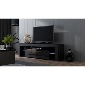 MEUBLE TV Meuble télé Haute qualite décoration lumineuse LED