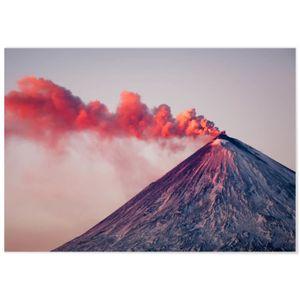 AFFICHE - POSTER Panorama® Poster Éruption Volcanique 100 x 70 cm -