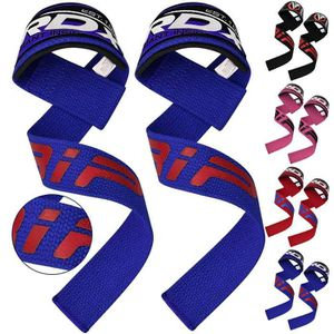 Haltérophilie Poignet Support coton bandage élastique Entraînement Gym Wraps-Gris