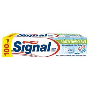 DENTIFRICE Signal Dentifrice Protection Caries 100ml (lot de