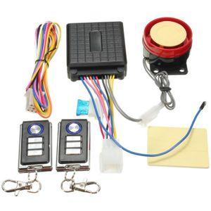 ALARME VEHICULE 125db Avertisseur Système Sécurité Alarme Télécomm