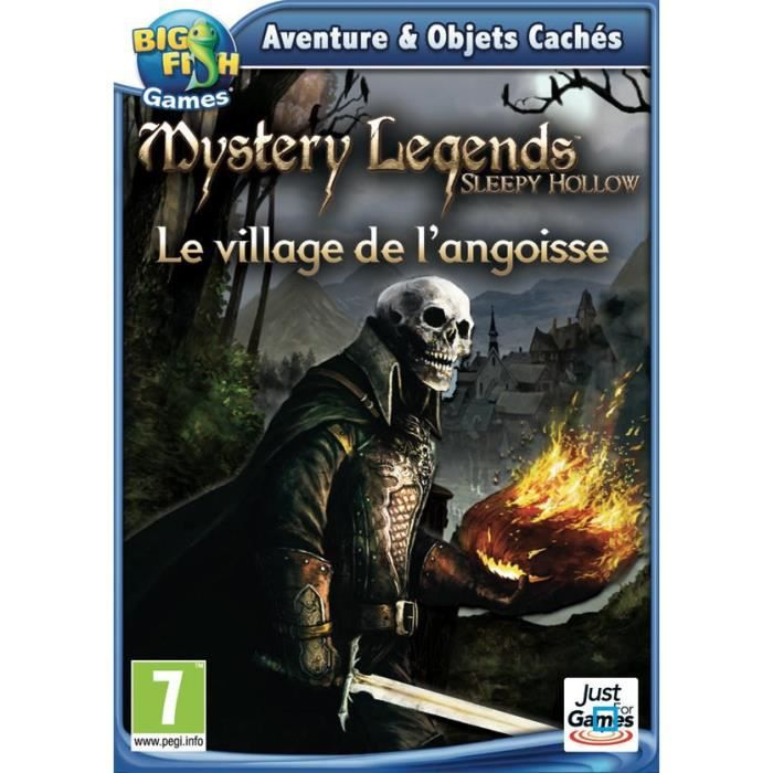 JEU PC MYSTERY LEGENDS: SLEEPY HOLLOW / Jeu PC