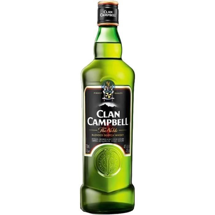 WHISKY BOURBON SCOTCH Clan Campbell The Noble (70cl) 40°