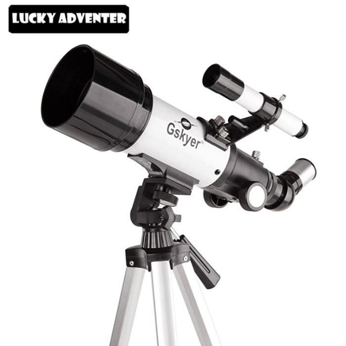 Gskyer Télescope AZ70400 Technologie Allemande Télescope Réfracteur de Voyage Télescope Astronomique