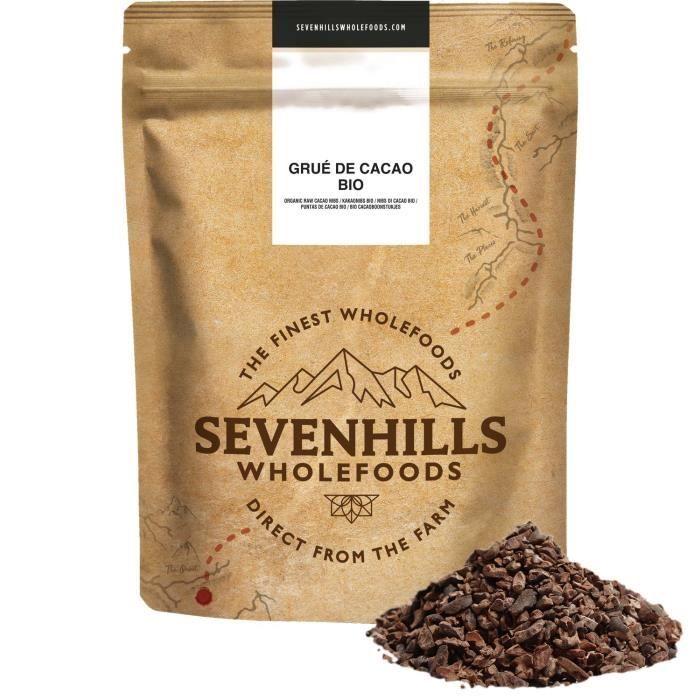 Sevenhills Wholefoods Bio Grué De Cacao Cru 1kg