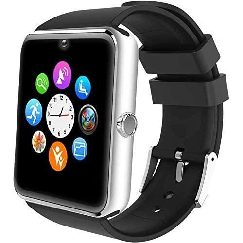 Willful Montre Connectée Homme Montre Telephone avec SIM pour Huawei Samsung Android Smartwatch Vibrante SMS Appel Smart Watch Tacti