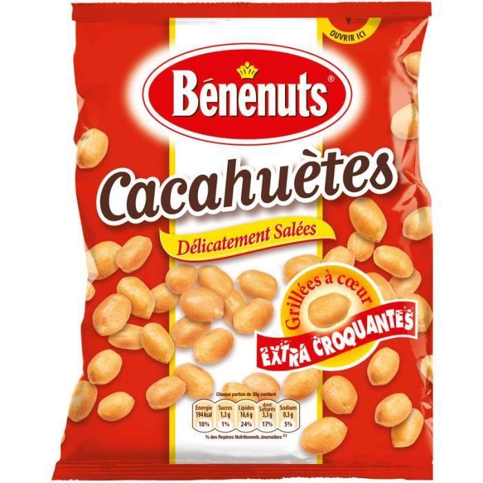 Cacahuètes salées 220 g BENENUTS