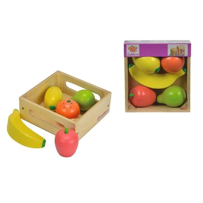 Eichhorn 100003734 - COMMUTATEUR KVM - Box avec fruits en Bois