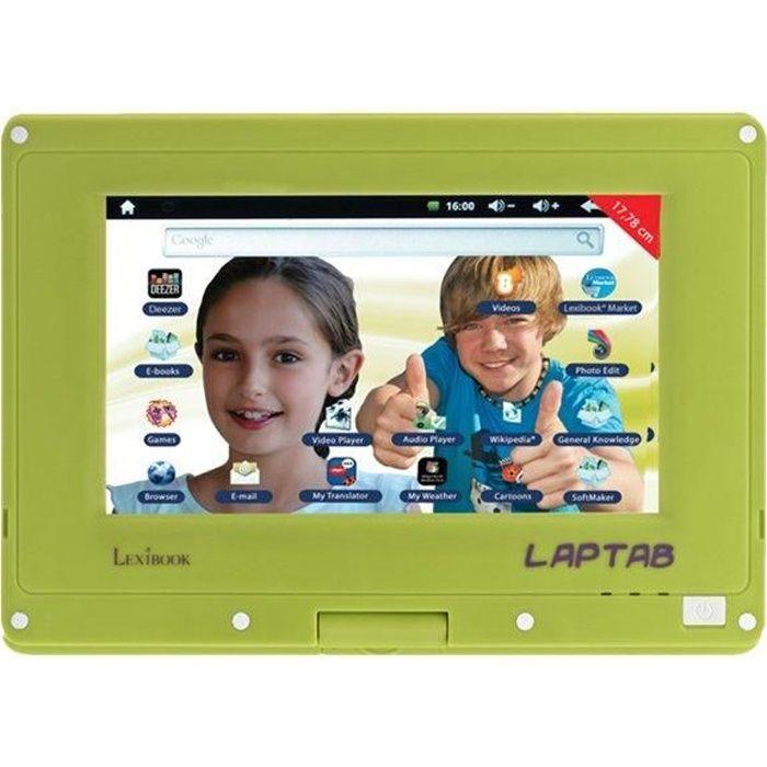 Lexibook Laptab Tablette Android 4.0 4 Go 7