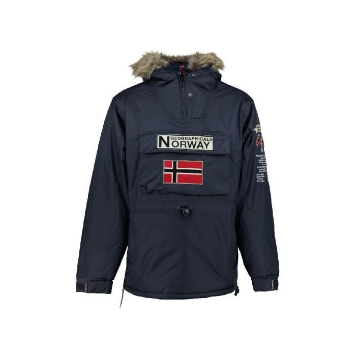 Parka Homme Geographical Norway Boomerang Marine